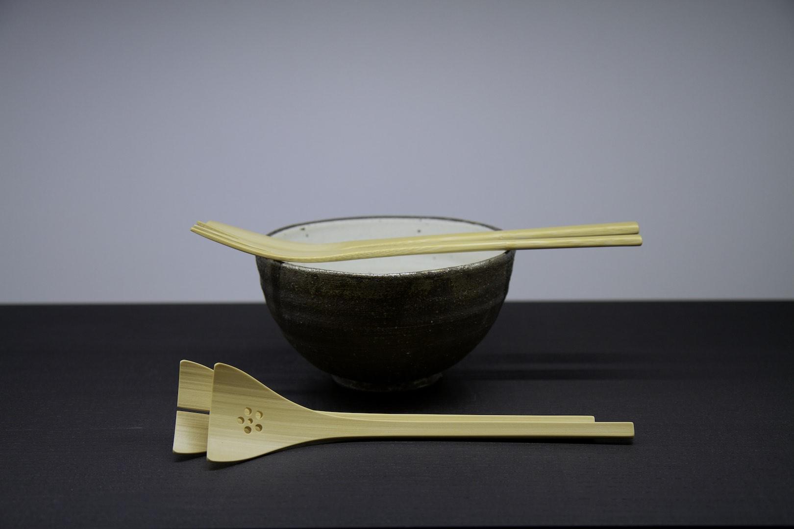 Kai-kobo salad cutlery