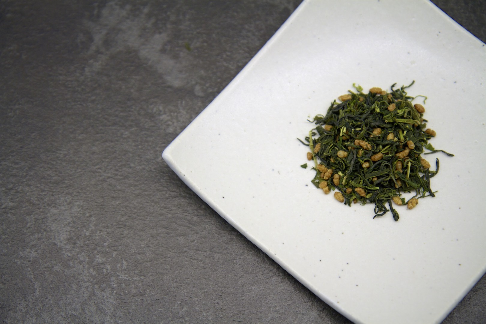 Genmaicha – organic greentea from Gokase (Kyushu) with roasted whole grain rice